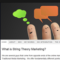 String Theory Marketing